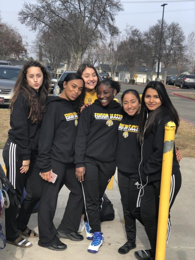 JV Girls Soccer Team