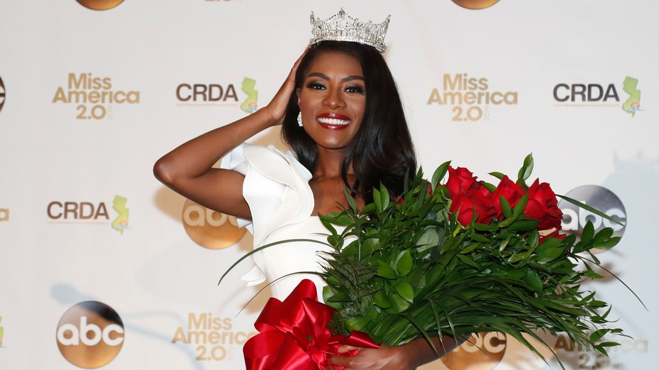 Nia Franklin, Miss America 2018